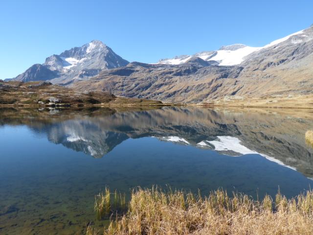 Le Lac Blanc et la Dent Parrachée